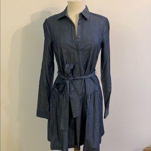 BCBG Maxazria Jean buttoned down midi dress